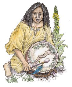 The Medicine Woman's Drum