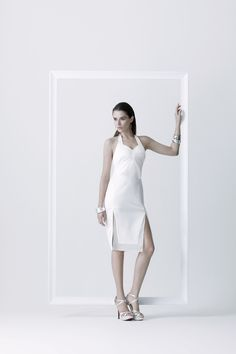 Innocent's not real long dress - More white, more glamour. Combination with shinny and transparent materials. Sweet and chic. Neat in every process of production. #fashion #fashiondesign #fashiondesigner #Thaidesigner #readytowear #aw2014 #MUETTA #Thailand