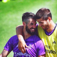 isco & Morata ..  Real Madrid