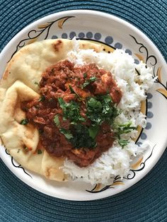 Homemade chicken tikka masala with white rice and buttered naan oc homemade chicken tikka masala recipes food cooking delicious foodie foodrecipes cook recipe health forumfinder Image collections