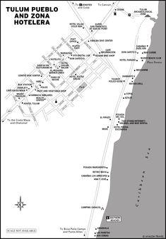 Tulum beaches and cenotes