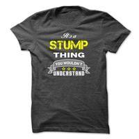 Its a STUMP thing.