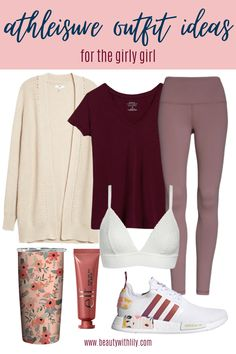 Athleisure Outfit Ideas // Women's Fashion // Fall Fashion for Women // Summer to Fall Fashion // Cute Loungewear Outfits // Cozy Loungewear Ideas // Work From Home Outfits // Chic Loungewear Outfits | Beauty With Lily