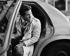 Ryan Reynolds with trenchcoat Ryan Reynolds, Chaning Tatum, Beautiful Men, Beautiful People, Hello Gorgeous, Xavier Samuel, Celebrity Gallery, Celebrity Crush, Celebrity Style