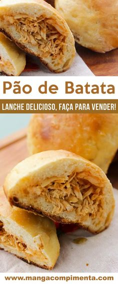 Pão de Batata - receita clássica que você pode fazer para comer ou vender!