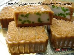 Chendol Agar-agar Mooncake