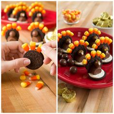 Get the recipe for the yummiest turkey you've ever tasted with these Cookie Gobblers! Ingredients at Big Lots!
