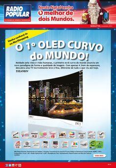 Newsletter - Venha conhecer o 1º OLED curvo do mundo! http://www.radiopopular.pt/newsletter/2013/112/