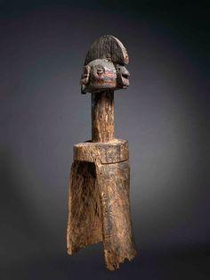 Vertical mask, Wurkun/Bikwin peoples, Nigeria, Late 19th-early 20th century…