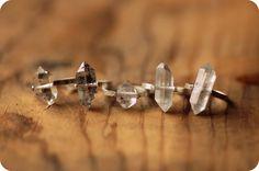 Herkimer ring. #lumafina #herkimer #quartz #ring