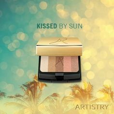 Get your sunkissed vacation look today with ARTISTRY 3D FACE POWDER.  Used individually or blended together – these 5 shimmery shades give you the perfect sun glow.