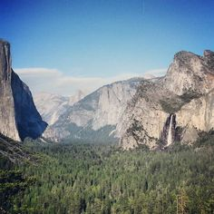 Yosemite National Park - Iconic peace of heaven that is a hundred times more stunning in person than you could ever imagine. DO NOT MISS THIS.