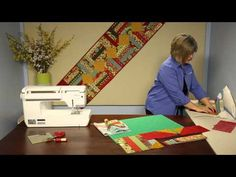 How to Make This Quilt: Marmalade table runner.  Try in 1930's prints for a bed runner