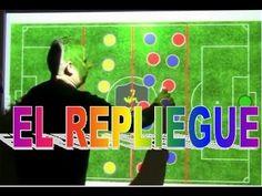 Fútbol Táctica - Ejercicio de Repliegue