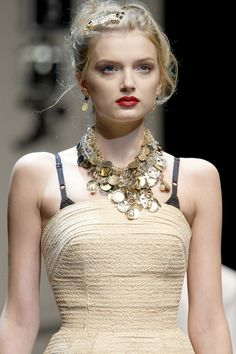 Dolce and Gabbana, Lily Donaldson