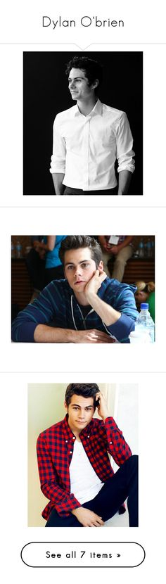 """""""Dylan O'brien"""" by natalie-katycats ❤ liked on Polyvore featuring dylan o'brien, teen wolf, people, dylan, guys, pictures, boys and celebrities"""