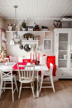 Navidad en la casita de campo