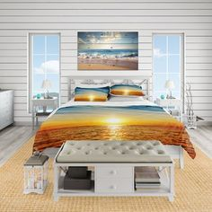 Solar Beautiful 3d Golden Sea Mermaid And Pirate Ship Bed Set Girls Bedlinens Set Comforter Bedding Sets Duvet Cover Set King Size