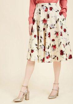 ModCloth - ModCloth Hell Bunny Perfectly Put Together Midi Skirt in 4X - AdoreWe.com
