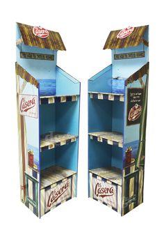 Schweppes Floorstand carton tinto de verano La Casera  5100