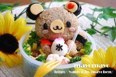 Tenorikuma bento takekayoda/kyaraben-japanese-style-lunchbox/ get back