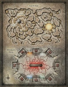 Dead in Thay; Bloodgate Keep Map 2 (Digital DM & Player Versions) $1.75