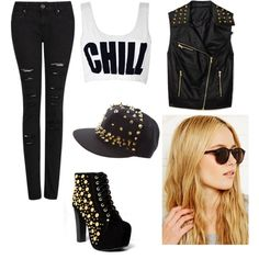 """rock n roll"" by thomcin on Polyvore"