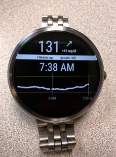 Developer builds a diabetes app for continuous blood glucose monitoring on Android Wear