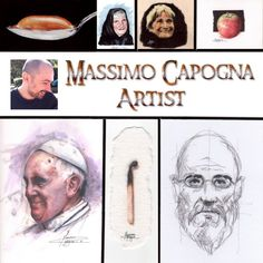 Massimo Capogna - Artist:  Copertina - brochure.