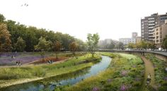 a f a s i a: Camps Felip Arquitecturia Water Resources, Parking Design, Landscape Architecture, Landscape Designs, Master Plan, Sustainable Design, Ecology, Sustainability, Camping