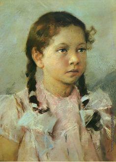 Серов (Раппопорт) Владимир Александрович [1910—1968] Портрет ребенка. 1961