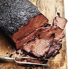 Coffee-Rubbed Texas-Style Brisket from Cooking Light