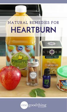 Check out these 23 natural remedies for heartburn for safe and effective relief. I'm also sharing a few tips for avoiding heartburn in the first place!