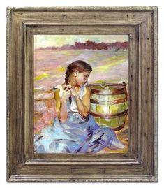 Jacek Malczewski - Zatruta studnia I - cm - . Painting, Art, Art Background, Painting Art, Kunst, Paintings, Performing Arts, Painted Canvas, Drawings