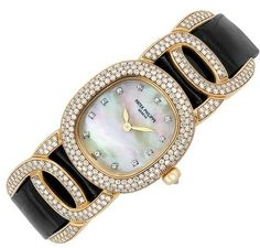 Lady's Gold, Mother-of-Pearl and Diamond Wristwatch, Patek Philippe ♥✤ | Keep the Glamour | BeStayBeautiful