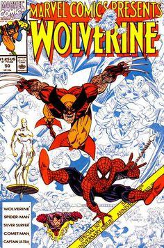 Marvel Comics Presents # 50 by Erik Larsen & Terry Austin