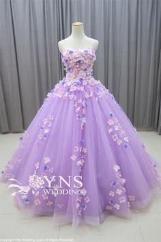 SL16901-PU-Nの詳細画像 Pretty Quinceanera Dresses, Pretty Prom Dresses, Sweet 16 Dresses, Elegant Dresses, Cute Dresses, Quince Dresses, Ball Dresses, Ball Gowns, Fantasy Gowns