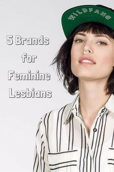 Are you femme lady lover who has a hard time getting other lesbians to recognize you? Wear these 5 brands with pride and let your homo flag fly! | LEZ BACKPACK Blog