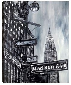 East 42nd by Paul Kenton Available from Westover Gallery £685