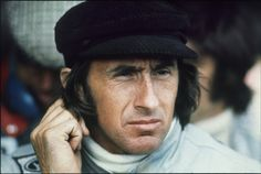 Jackie Stewart F-1 and Indy car driver.