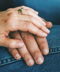 Married couple holding hands   | When someone suffers from mental illness, the family suffers, too. One woman looks back on the diagnosis that forever altered her husband, her marriage, and her life.