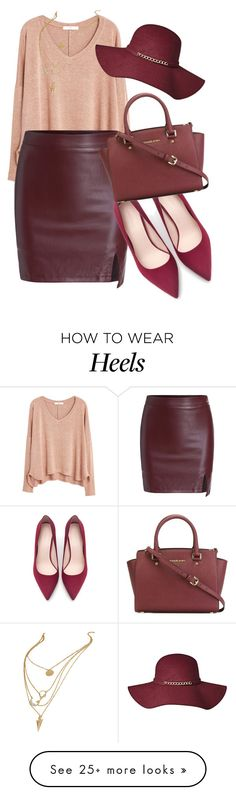 """Getting ready for next week."" by azzra on Polyvore featuring MANGO, Zara and MICHAEL Michael Kors"