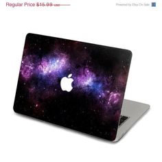 ON SALE Purple Nebula Decal for Macbook Pro, Air o ($14.39)