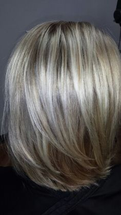 Blonde highlight with dark blonde lowlight at Salon Eclectica by Ashley