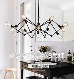 Industrial-Eichholtz-Spider-Replica-Pendant-Light-Lamp-12-ARMS-CEILING-lighting