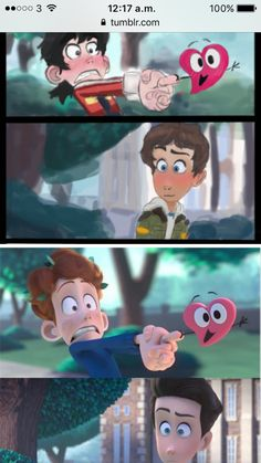 "THIS IS FROM A REALLY CUTE ANIMATED SHORT CALLED ""IN A HEARTBEAT"" Y'ALL SHOULD CHECK IT OUT"