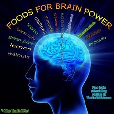 life, love health# Here are some foods for BRAIN POWER! They nourish the brain with proper nutrition, increase IQ, energy, and focus. Proper Nutrition, Health And Nutrition, Health Tips, Health And Wellness, Health Benefits, Brain Nutrition, Health Trends, Health Facts, Nutrition Tips