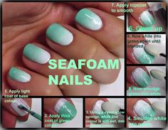 SEAFOAM NAILS  http://www.facebook.com/pages/Rock-your-Locks/133025596754055
