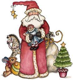 . Santa and Friends .