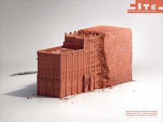 Architecture Museum Paris: Brick